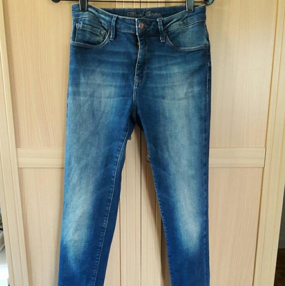 Mavi Denim - Mavi Skinny Jeans Hi Rise